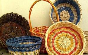 košíky a ošatky z pedigu (ratanu)