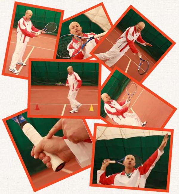 tenisová škola - jak se naučit hrát tenis