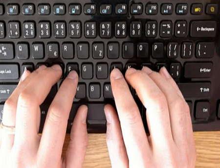 online kurz psaní všemi deseti