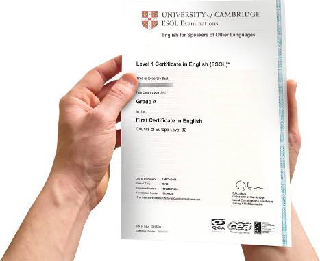 jazykový certifikát