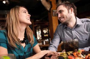 muž a žena na rande