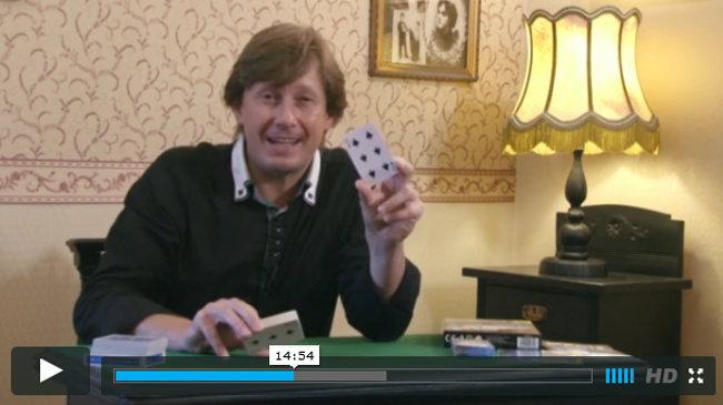 video kurz Pavla Kožíška a jeho karetní triky a návody