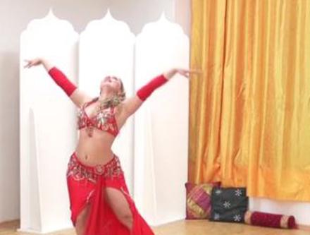 orientální břišní tanečnice
