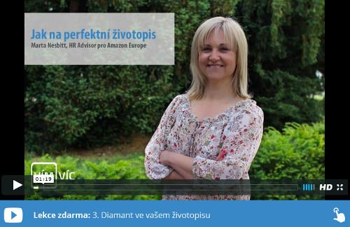 Marta Nesbitt radí, jak napsat životopis