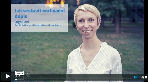 Olga Pohl radí, jak napsat motivační dopis
