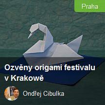 pozvánka na origami kurzy v Praze od Ondřeje Cibulky