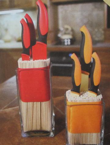 ruční výroba - stojan na nože