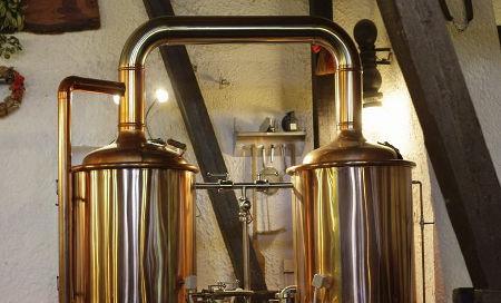 vybavení z kurzu vaření piva