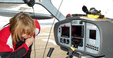 kokpit letadla pro kurz pilotování letadla