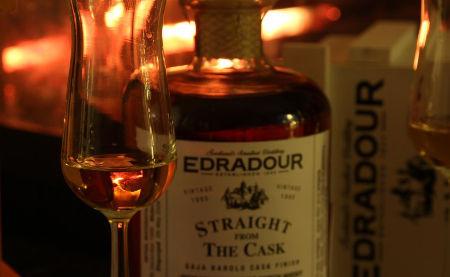 nejlepší whisky edradour při kurzu ochutnávky whisky