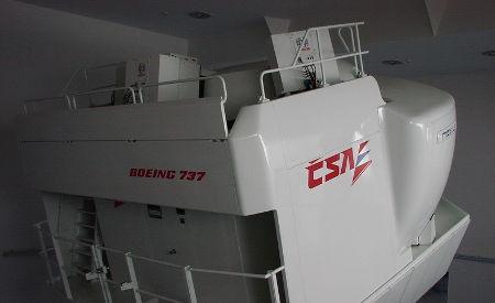 takto vypadá letecký trenažér od společnosti ČSA
