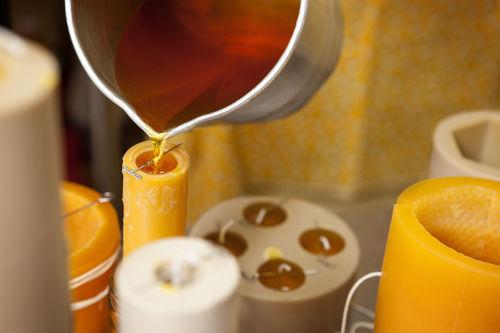 návod na domácí výrobu svíček