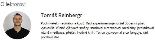 Tomáš Reinbergr - 30denní půst