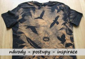postup a časté chyby při savování trička