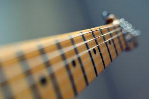 Fotografie krk kytary