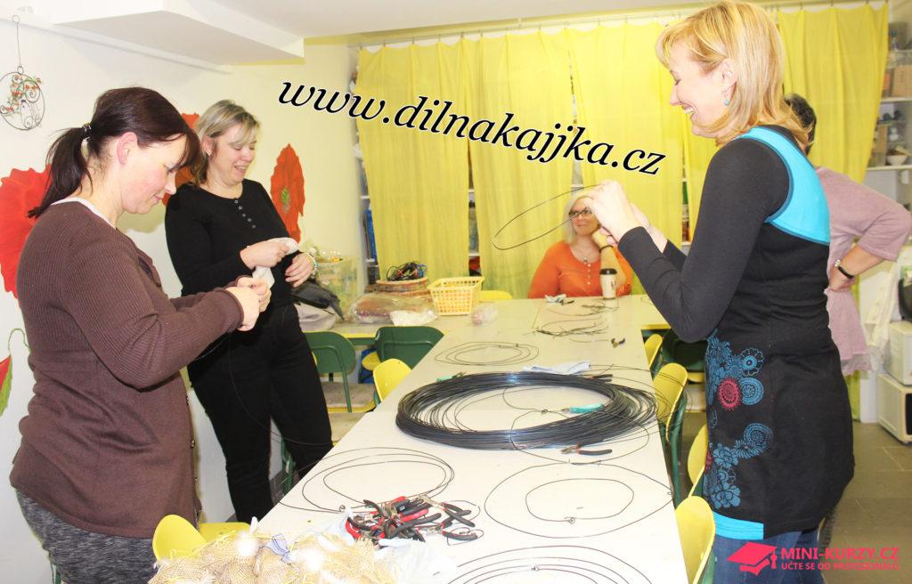 Fotografie tvoření v Kajjky dílně