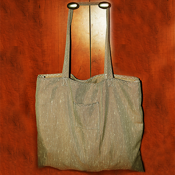 Fotografie plátěné tašky ušité doma