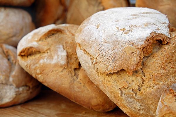 Fotografie domácího chleba