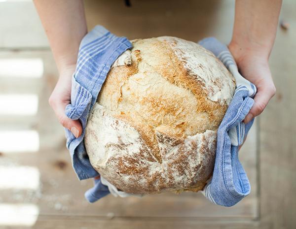 Voňavý a křupavý chléb