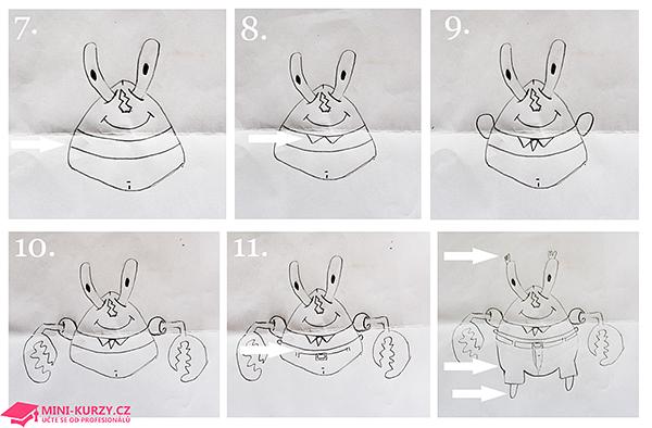Návod : Jak nakreslit pana Krabse