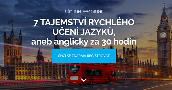 Fotografie online semináře pro anglický jazyk