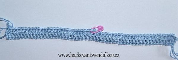 Fotografie : návod na háčkovanou kabelku s chobotničkou Aničkou
