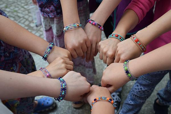 Fotografie:náramky pro větší děti