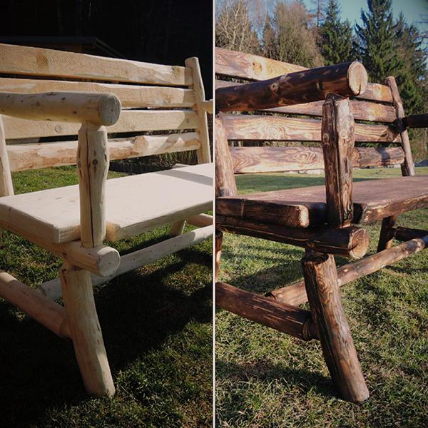 Lavice ze dřeva (VENDA.work)