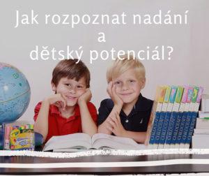 Fotografie dětí a jak rozpoznat nadání a dětský potenciál
