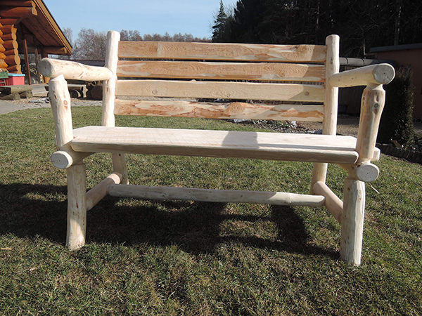 Fotgrafie:lavička ze dřeva - Venda.work
