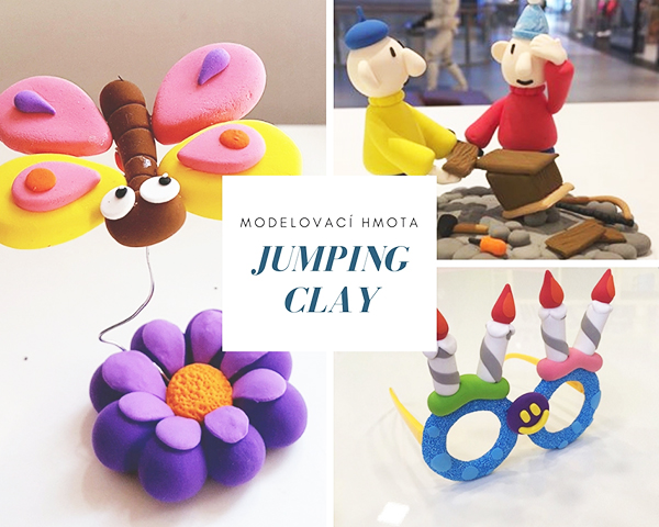 Foto: Jumping Clay modelovací hmota