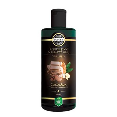 Fotografie:čokoládový luxusní tělový olej