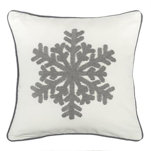 Fotografie:Povlak na polštářek Snowflake bílá