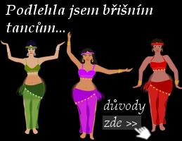 Tři ženy cvičí břišní tance - úvodní foto článku: Podlehněte kouzlu orientálních břišních tanců