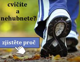 Podrážka běžecké boty - úvodní fotka článku na téma: Cvičíte a nehubnete? Zjistěte, proč