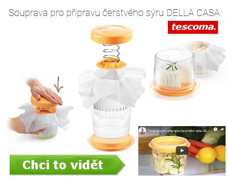 tescoma souprava na výrobu domácého sýru - video návod