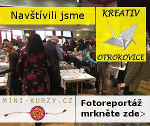 Fotky návštěvníků a stánků na tvořivém festivalu Kreativ Otrokovice