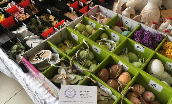 velikonoční dekorace - vajíčka, motýlci, slepičky a jiné