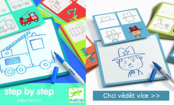 součástky hry malování krok za krokem pro děti