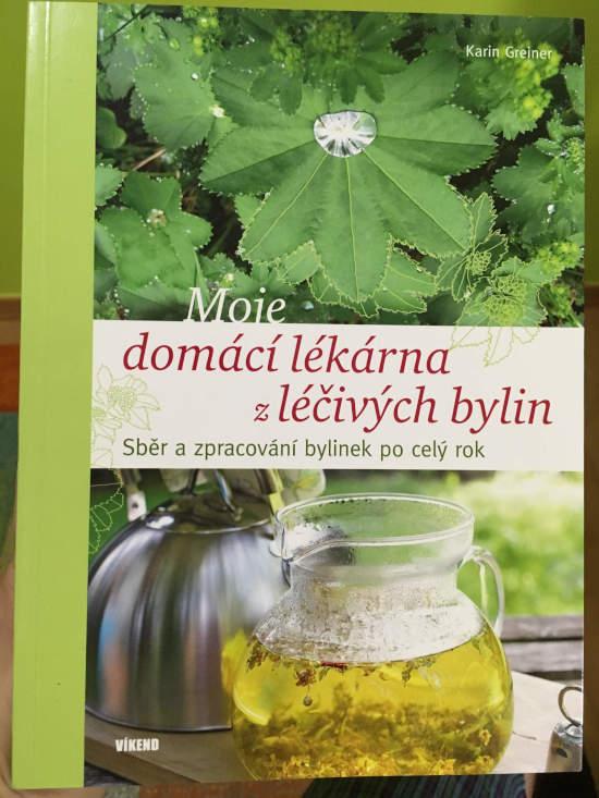 obal knihy Kniha Moje domácí lékárna z léčivých bylin
