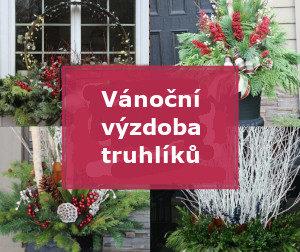 4 výzdoby vánočních truhlíků - úvodí fotka článku Vánoční výzdoba truhlíků nejen na oknech – inspirace, rady a tipy