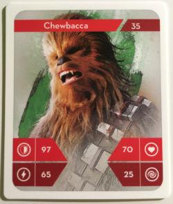 Chewbacca - motiv pro výrobu záložky do knihy - sběratelská akce STAR WARS v Kauflandu