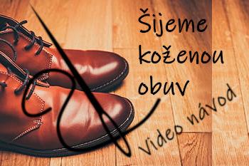 Naučte se šít kožené boty a vyrobte si vlastní barefoot obuv