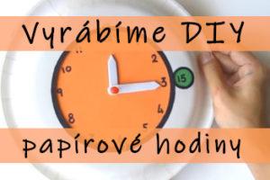 DIY papírové hodiny - úvodní obrázek článku Jak vyrobit papírové hodiny