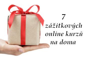 na dlani leží zabalený dárek - úvodní fotka článku Darujte zážitek, který si je možné vychutnat doma – 7 on-line kurzů pro muže a ženy