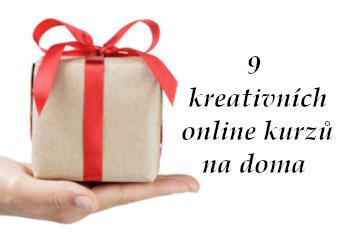 na dlani leží zabalený dárek - úvodní fotka článku 9 tvořivých on-line kurzů, z pomocí nichž vytvoříte krásné dárky