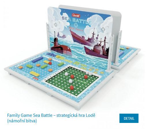 plastová stolní hra námořní bitva (lodě)